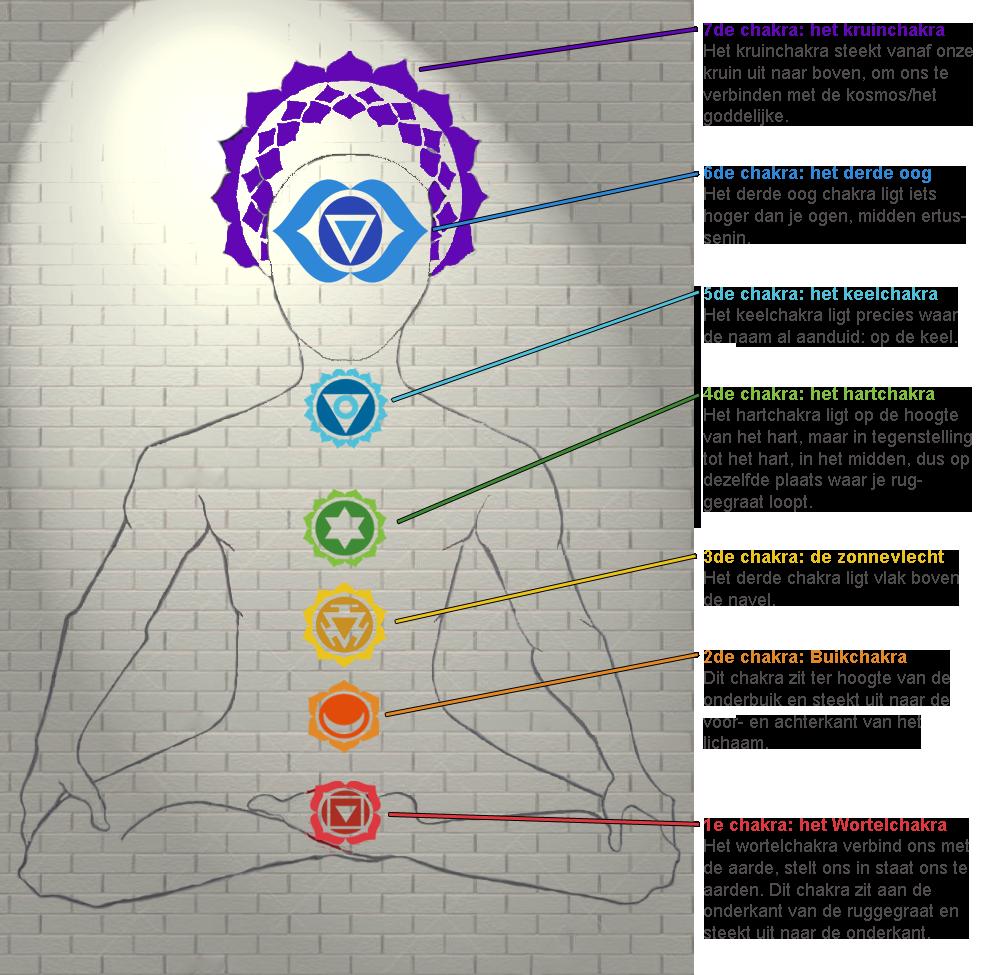 De 7 chakras